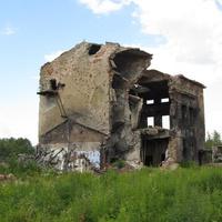 Саперный, руины завода Ленспиртстрой