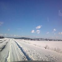 зимний пейзаж Рассколово