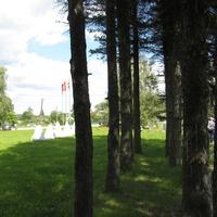 Невский порог — мемориал на берегу реки Тосны