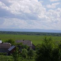 Вид на пасовище (груд) в с. Погірці