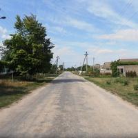 Ул.Днепровская. Единственная в деревне