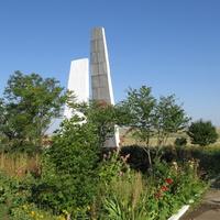 Сквер и мемориал павшим воинам - односельчанам в ВОВ