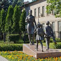 Скульптурная композиция на ул.Плеханова