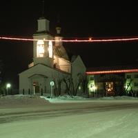Храм Петра и Павла - ночью