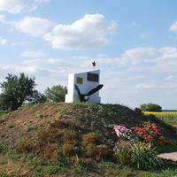 Воинский мемориал в селе Озёрки