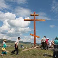 Установление креста