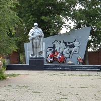 Памятник на братской могиле 84 воинов Советской Армии