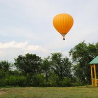 "Атракцион ""Воздушный шар""."