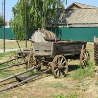 Старая казачья телега