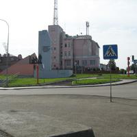 Перекресток улиц С. Перовской и Гагарина