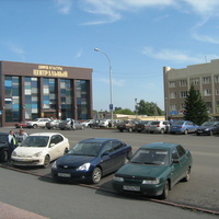 ДК и гостиница (ул. Ленина)