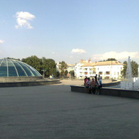 Вид с площади Гагарина