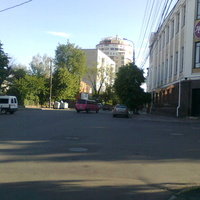 Перекрёсток улиц Гоголя, Л. Толстого, Архитектора Артынова и Театральной