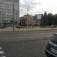 Вид на ул. Пушкина с Соборной.