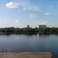 парк озеро