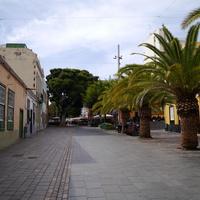 Улица в Санта Крус де Тенерифе...