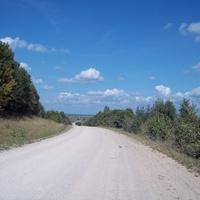 По дороге в Крево