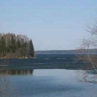 Валдайское озеро весна 2006