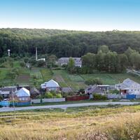 Облик села Крапивное
