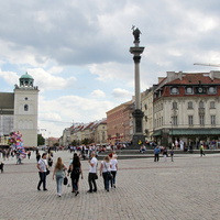 Колонна короля Сигизмунда на Замковой площади