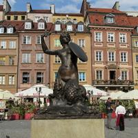 Варшавская русалка - герб Варшавы