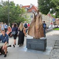 Памятник Марии Склодовской-Кюри