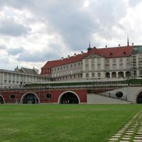 Королевский дворец с обратной стороны