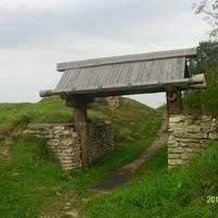 Остатки старых городских ворот