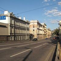 Улица Кр.Волдемара с Вантового моста