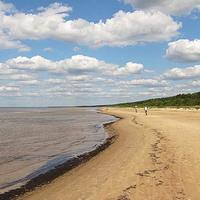 Рига. Пляж в Вецаки