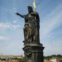 Статуя на Карловом мосту