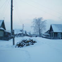 Зима - холода...Одинокие дома...