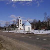 Часовня с Успенской церковью в селе Красное Орехово-Зуевского района