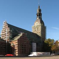 Реставрация Домского собора. 2011г