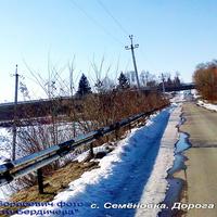Семёновка, ул. Шевченко ведёт под мост объездной дороги
