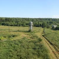 Вид на водонапорную башню