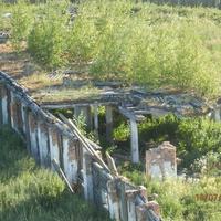 руины телятника