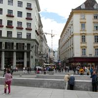 Вид на улицу Кольмаркт с площади Святого Михаила
