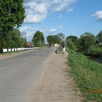 Мост через р. Брус