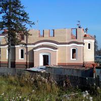Первоуральск. Строительство храма Николая Чудотворца на Динасе. 2014 г