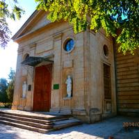Спаський собор та дзвiниця 1806року.