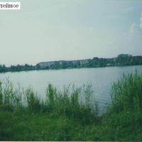 Озеро Юбилейное в городе Рошаль