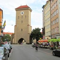 Башня с часами (Изарские ворота)