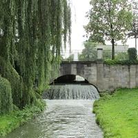 Швабингербах (ручей) на входе в Английский парк