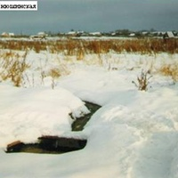 Родник около деревни Инюшинская. Январь 1998г.
