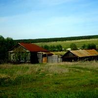 оставшиеся домики в деревне