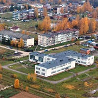 Район школы с высоты птичьего полёта