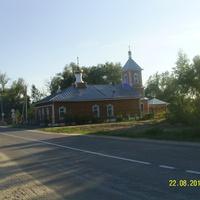 Отстроенный до пожара храм Михаила Архангела в Пышлицах