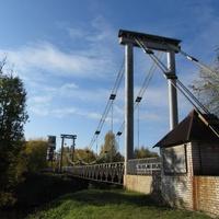 фрагмент моста ведущего на комбинат