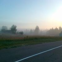 Утро туманное.